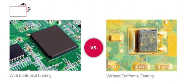 Bảo vệ chống bụi & ẩm: bảng mạch được nâng cao với lớp phủ bảo vệ chống bụi, bột sắt, ẩm mốc và các điều kiện khó chịu khác, tiết kiệm chi phí bộ khung bảo vệ và chi phí lắp đặt đắt tiền4