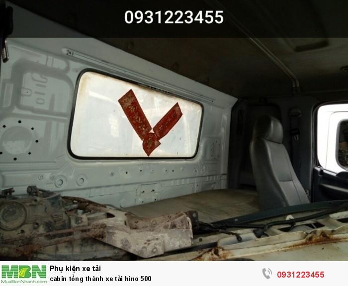 cabin tổng thành xe tải hino 500