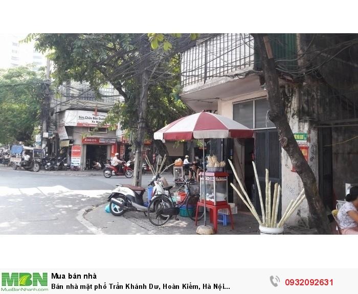 Bán nhà mặt phố Trần Khánh Dư, Hoàn Kiếm, Hà Nội Dt136m2,Mt7.4m,nhà cũ, giá 25 tỷ