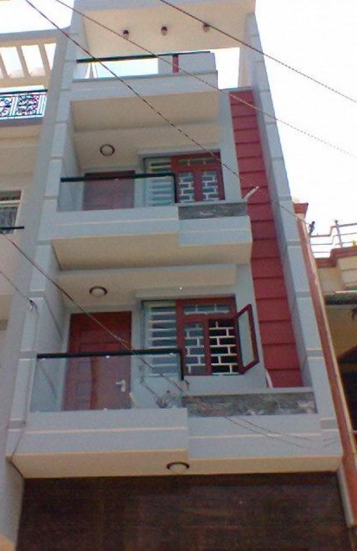 Bán nhà Lê Văn Sỹ, 60m2, 3 tầng, HXH, 5PN