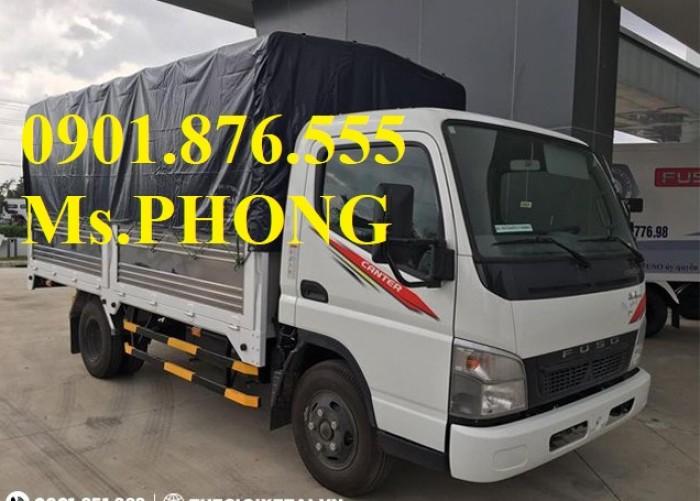 Xe tải Fuso 1T9 Thùng mui bạt, đời 2017- giao ngay-đại lý xe tải uy tín