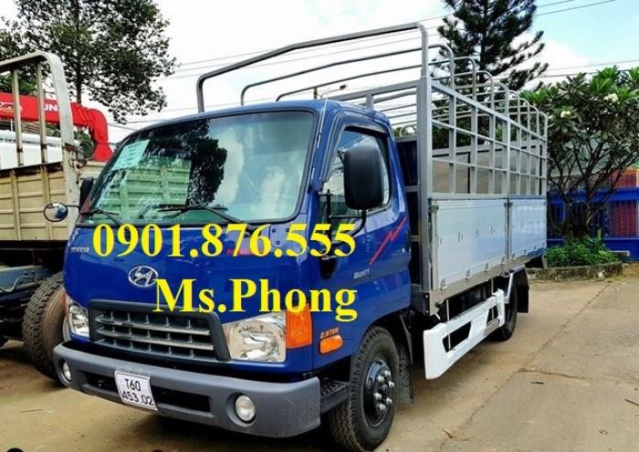 Xe tải Hyundai 6T5/6,5T/6 TẤN 5 thùng mui bạc giá tốt-Trả trước 5%-Đại lý xe tải uy tín tại Sài Gòn.