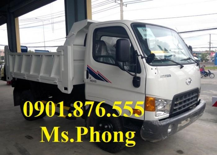 Xe ben Hyundai 1 tấn 7/ giá xe ben hyundai 1t7 giao ngay- hỗ trợ trả góp 90%. 0