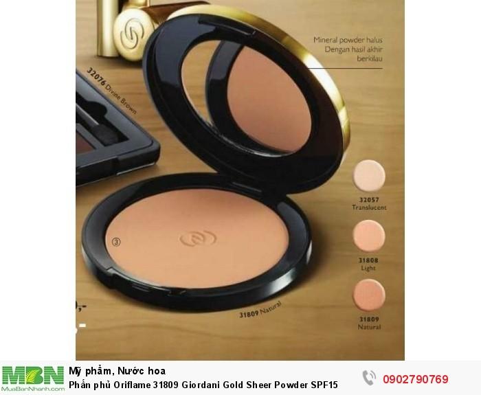 Phấn phủ Oriflame 31809 Giordani Gold Sheer Powder SPF150