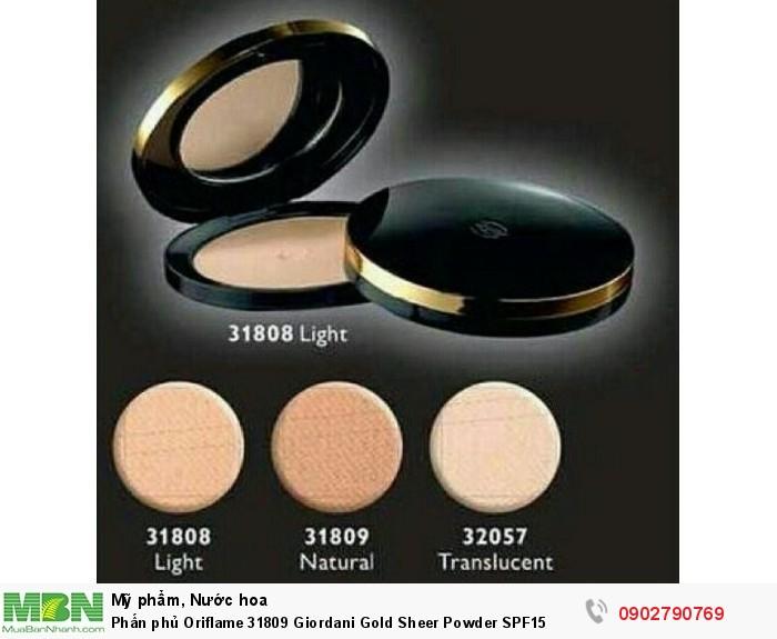 Phấn phủ Oriflame 31809 Giordani Gold Sheer Powder SPF151