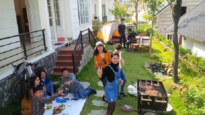 Bếp nướng khung thép dùng ngoài trời Acter Tree CK350, bếp nướng gia đình Việt4