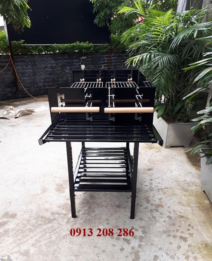 Bếp nướng khung thép dùng ngoài trời Acter Tree CK350, bếp nướng gia đình Việt0
