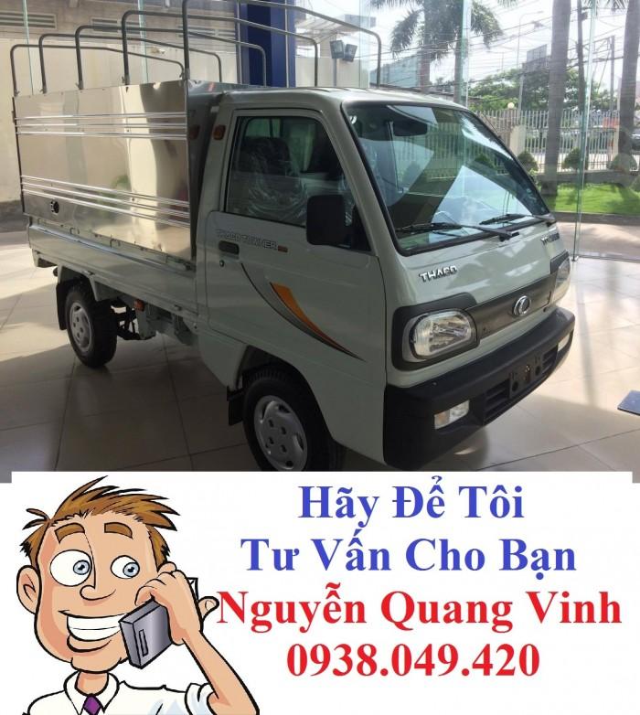 Xe tải Thaco Towner 800 - Tải trọng 900kg - Hổ trợ trả góp