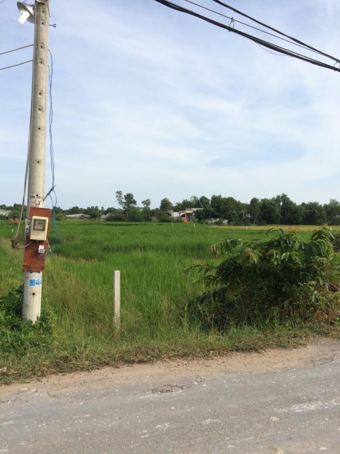 Đất thổ cư giá rẻ Bình Chánh 580m2, mặt tiền đường Tân Liễu