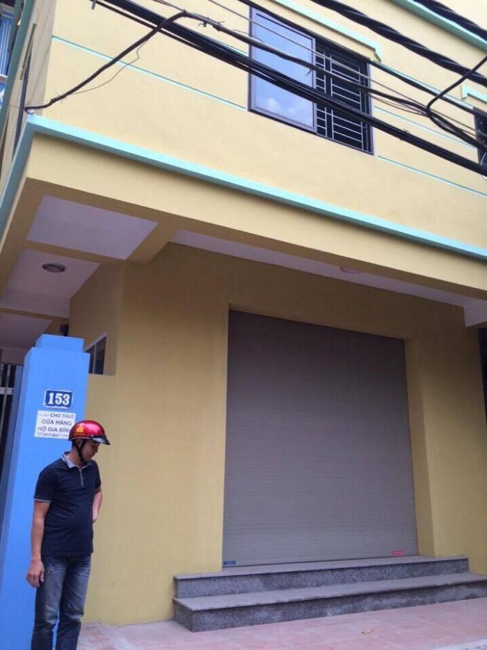 Cho thuê cửa hàng, MT 5m, diện tích 55m2 tại Số 153 ngõ 207 Xuân Đỉnh, Bắc Từ Liêm, HN