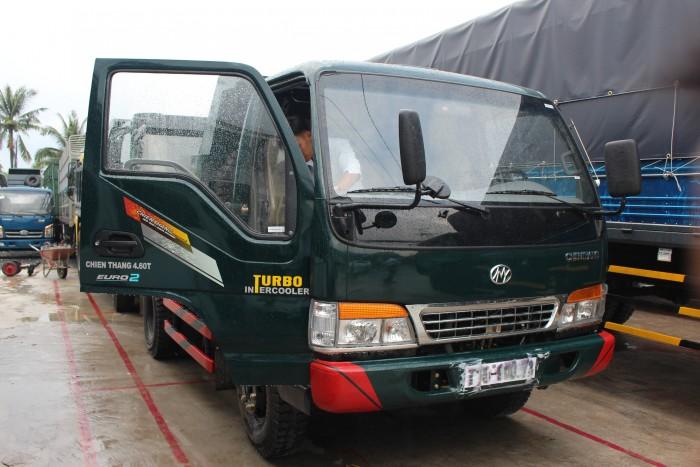Xe tải ben Chiến thắng 3.9 tấn 4.6 tấn 6.2 tấn,Giá bán xe tải tự đổ Chiến Thắng