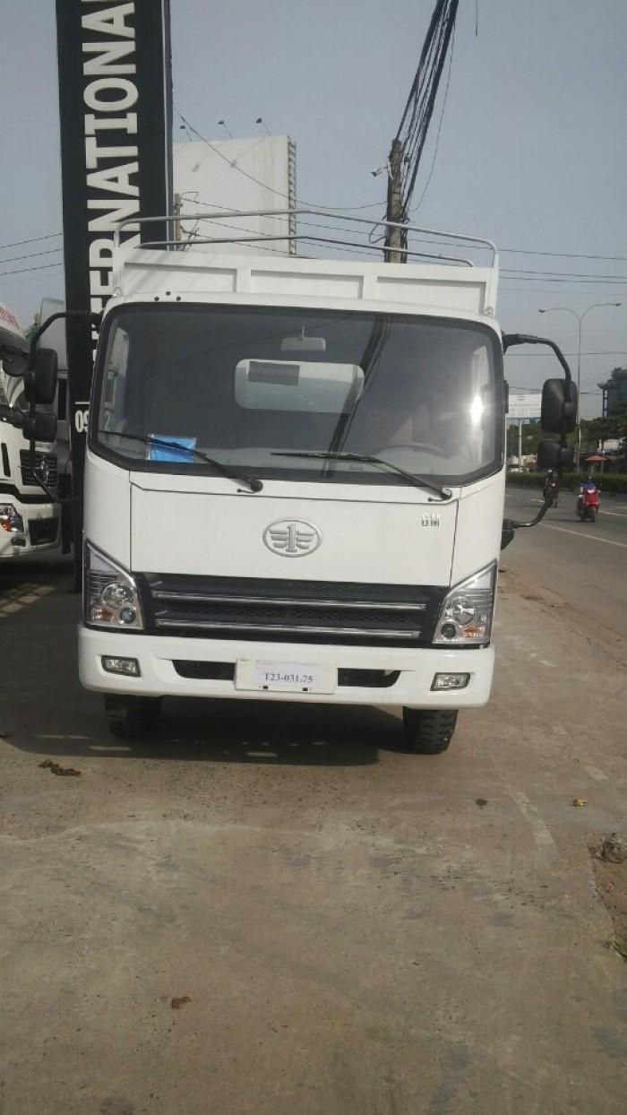 Faw 7T3 thùng dài 6.2 mét. máy, cầu, hộp số Hyundai