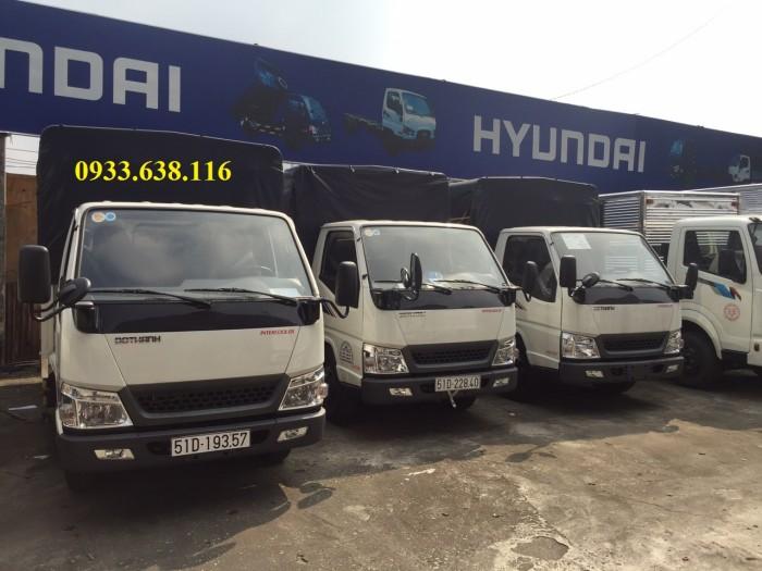 Bán xe tải Đô Thành tải trọng 2,4 tấn vào thành phố.