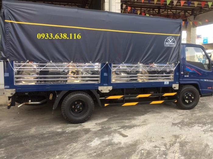 Bán xe tải đô thành IZ 2,4T-2,3T trả trước 20%.