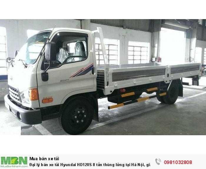 Hyundai Đông Nam phân phối xe tải Hyundai HD120S 8 tấn chính hãng
