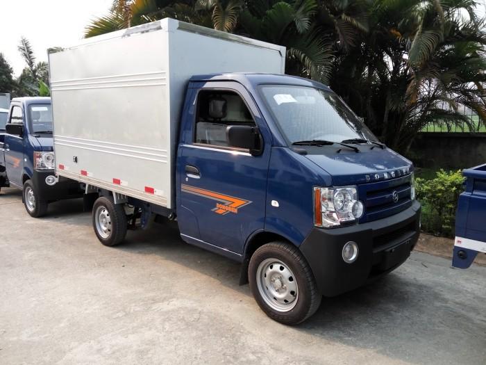 Xe Tải Dongben 870kg thùng kín đời 2017 - DB 1012