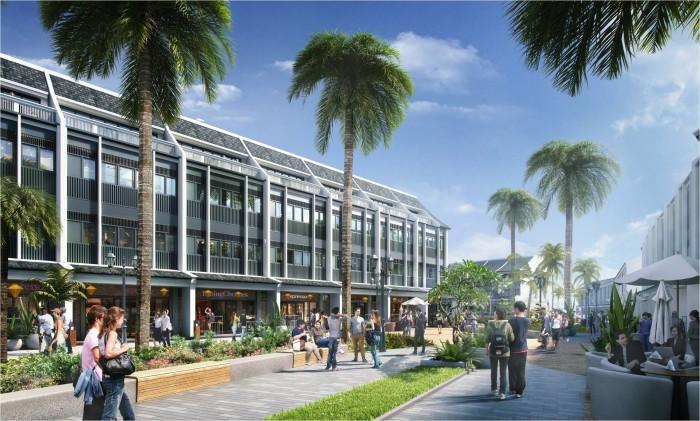 Shophouse 120m2 mặt tiền đường Nguyễn Tất Thành ven biển Đà Nẵng