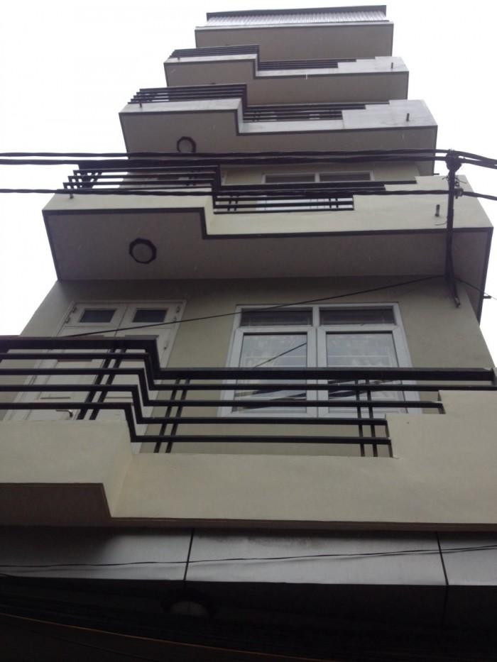Cho thuê 7t x 45m2 phố Đội Cấn, nhà mới, ngõ thoáng rộng