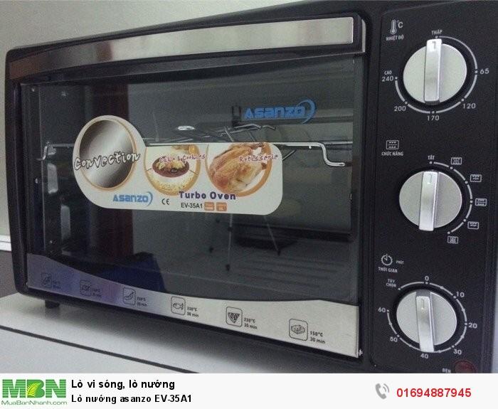 Lò nướng asanzo EV-35A11