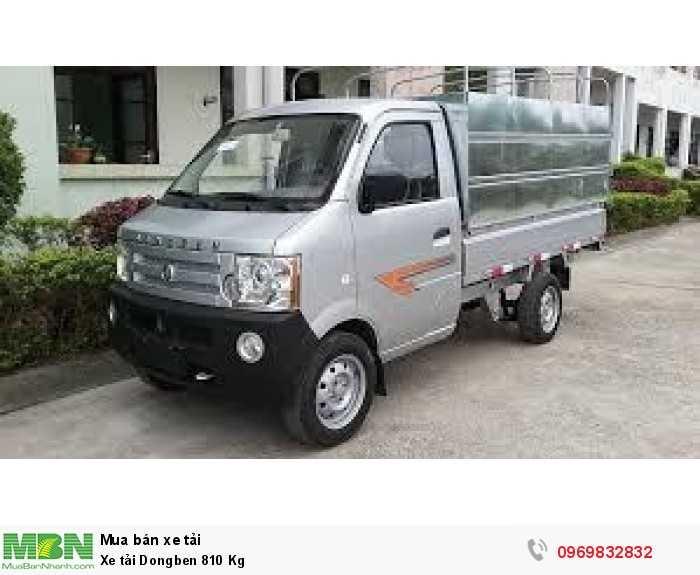 bán xe tải dongben_810kg_cho vay trả góp