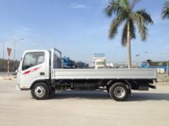 Bán xe tải Jac 3450kg thùng lửng đời 2017, trả góp 70-90%, lãi suất thấp