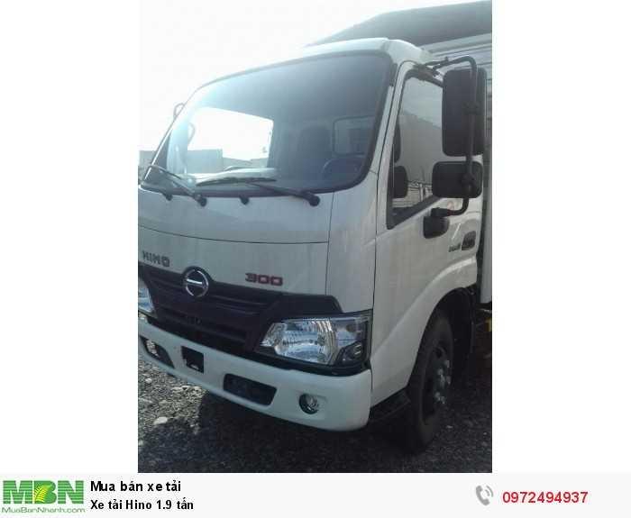 Báo giá xe tải Hino 1.9 tấn, Hino 1t9 - Hỗ...