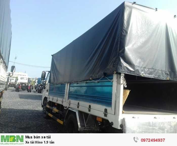 Báo giá xe tải Hino 1.9 tấn, Hino 1t9 - Hỗ trợ trả góp 80% LS thấp 2