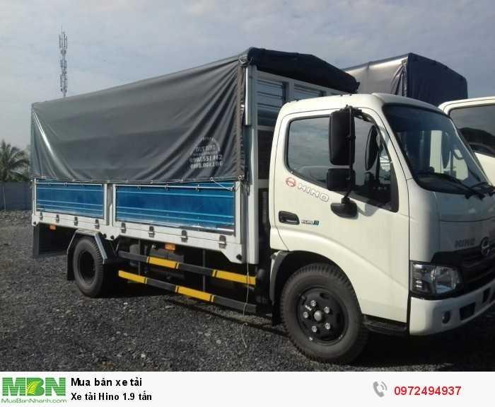 Báo giá xe tải Hino 1.9 tấn, Hino 1t9 - Hỗ trợ trả góp 80% LS thấp 6