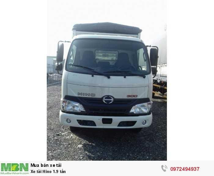 Báo giá xe tải Hino 1.9 tấn, Hino 1t9 - Hỗ trợ trả góp 80% LS thấp 7