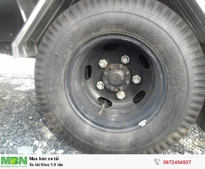 Báo giá xe tải Hino 1.9 tấn, Hino 1t9 - Hỗ trợ trả góp 80% LS thấp 8