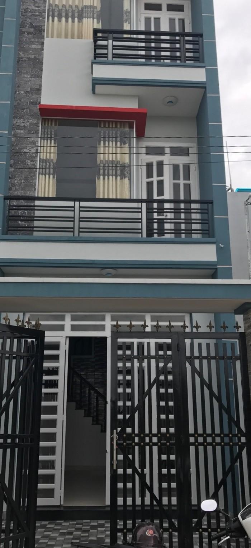 Nhà 2 lầu đường Tân Kỳ Tân Quý - Kênh nước đen