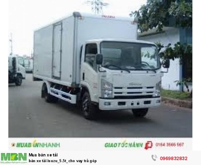 bán xe tải isuzu_5.5t_cho vay trả góp