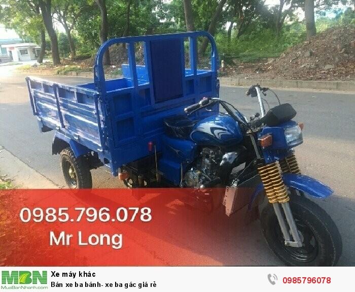 Bán xe ba bánh- xe ba gác giá rẻ
