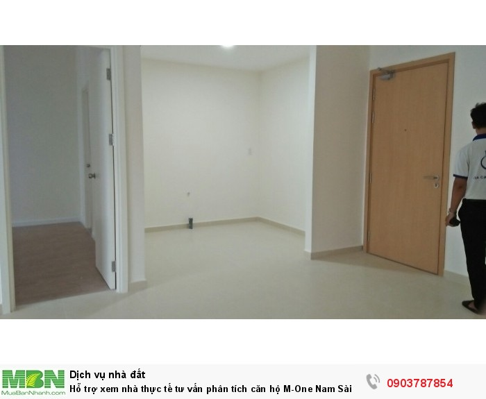 Hỗ trợ xem nhà thực tế tư vấn phân tích căn hộ M-One Nam Sài Gòn, giá 2PN