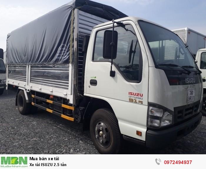Xe tải ISUZU 2.5 tấn - Trả trước 150 triệu giao xe ngay - Liên hệ: 0972494937 (24/24)