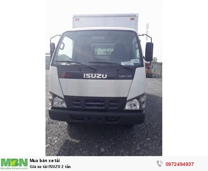 Xe tải ISUZU 2 tấn - Thùng kín inox - Liên hệ: 0972494937 (24/24)