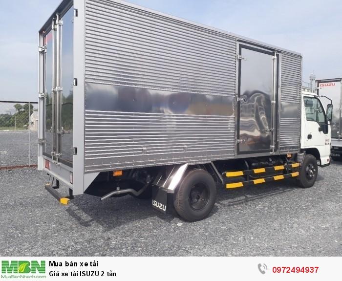 Giá xe tải ISUZU 2 tấn