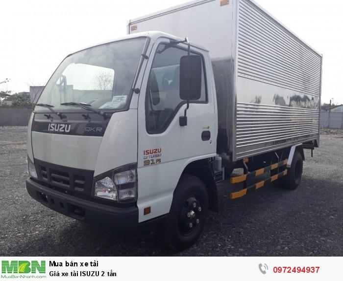 Xe tải ISUZU 2 tấn - Nâng tải lên tới 3.5 tấn - Liên hệ: 0972494937 (24/24)