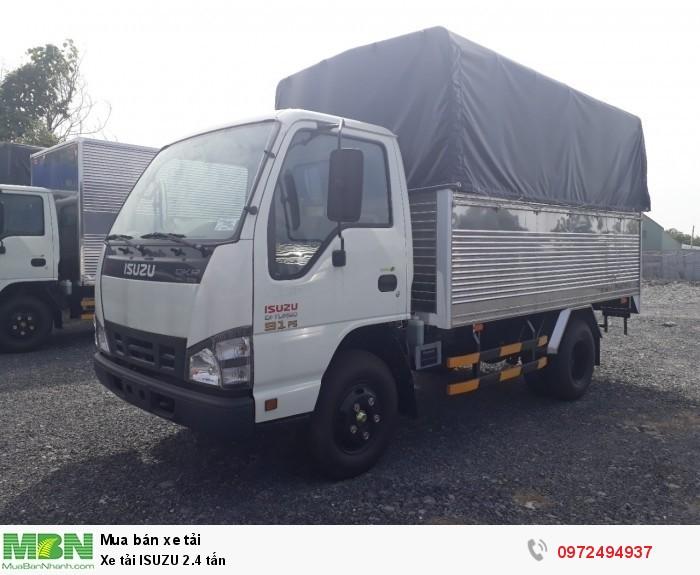 Xe tải ISUZU 2.4 tấn - Nhận đóng thùng theo yêu cầu - Liên hệ: 0972494937 (24/24)
