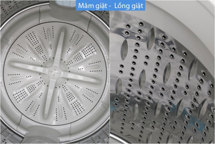 Máy giặt Hitachi inverter 14 kg SF-140XAV 220-VT (SL)6