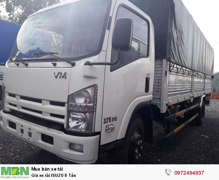 Báo giá Xe tải ISUZU 8 Tấn - Liên hệ: 0972494937 (24/24)