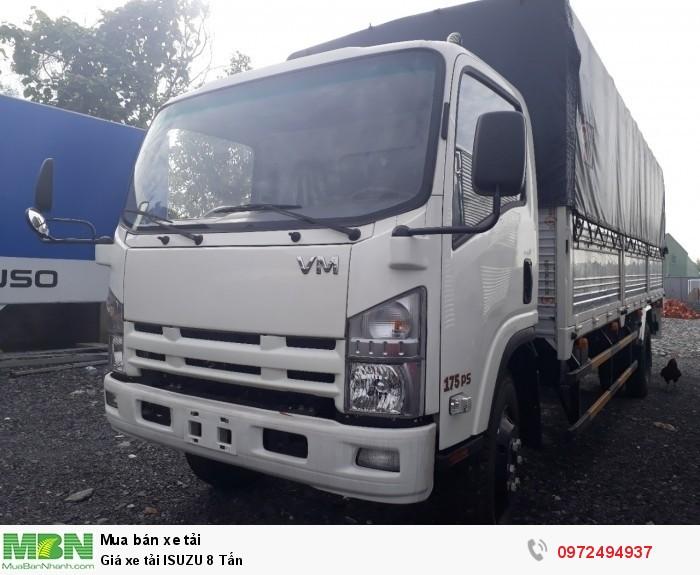 Bảng giá xe tải ISUZU 8 Tấn - Trả trước 250 triệu - Liên hệ: 0972494937 (24/24)
