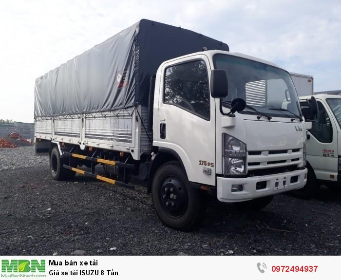 Nhận báo giá xe tải ISUZU 8 Tấn - Nhận đóng thùng theo yêu cầu - Liên hệ: 0972494937 (24/24)