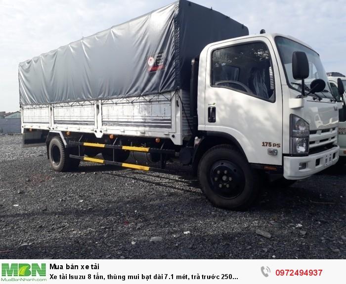 Xe tải Isuzu 8 tấn, nhận đóng thùng theo yêu cầu - Liên hệ: 0972494937 (24/24)
