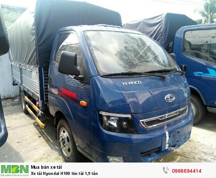 Xe tải Hyundai H100 lên tải 1,9 tấn