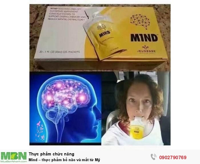 Mind – thực phẩm bổ não và mắt từ Mỹ3
