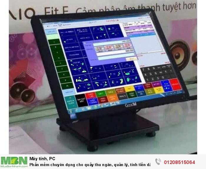 Phần mềm chuyên dụng cho quầy thu ngân, quản lý, tính tiền dành cho quán trà sữa1
