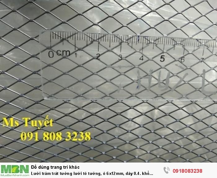 Lưới trám trát tường lưới tô tường, ô 6x12mm, dây 0.4. khổ 1mx45m, hàng có sẵn tai Hà Nội0