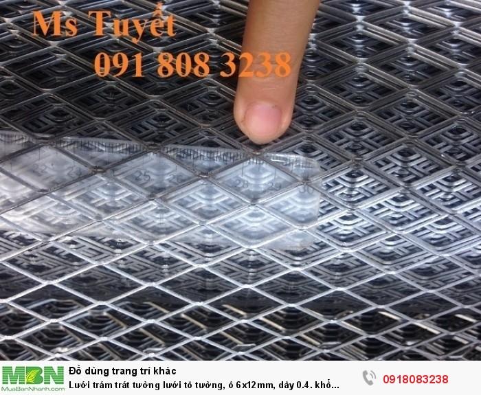 Lưới trám trát tường lưới tô tường, ô 6x12mm, dây 0.4. khổ 1mx45m, hàng có sẵn tai Hà Nội2