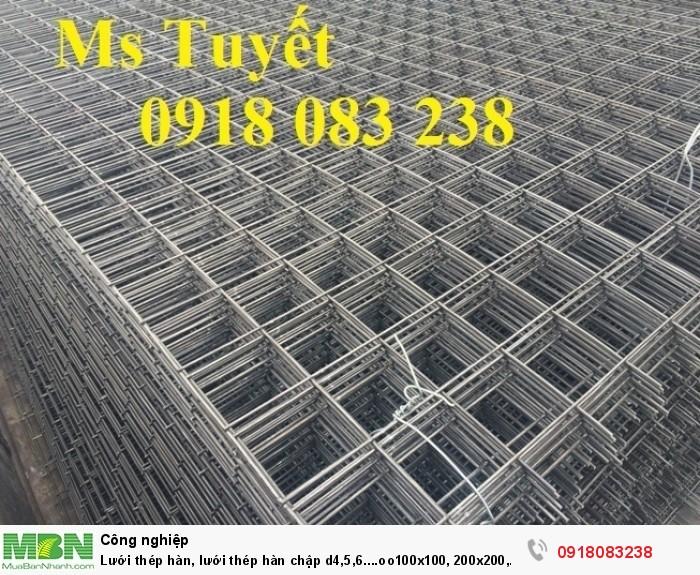 Lưới thép hàn, lưới thép hàn chập d4,5,6....oo100x100, 200x200, 150x150...1